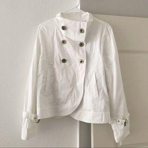 MICHAEL KORS White Jacket SZ L